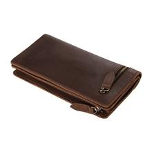 8051C Wholesale Price Unique Design New Coffee leather Clutch Design Bag for Men