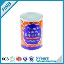 plastic protein powder container Purity collagen powder