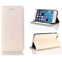 Genuine PU Leather Folio Wallet Flip Smart Case Cover For Apple iPhone 6 New Case 4.7 Inch