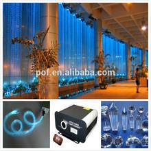 plastic optical fiber for crystal used to make pendant fiber optic lighting