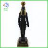 Vintage black Egyptian anubis god statue