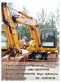 Fr60 6 ton excavadora pequeña 80% nuevosmáquinas suministrados de las fábricas