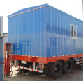 Type de camion mobile usine de traitement d'eau/ro eau équipement de traitement