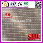 100% Cotton khaki white plaid Fabric