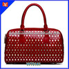 2014 Europe style genuine italian leather bag, top grain leather bag, hollow out bags
