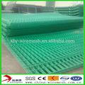 De malla soldada tipo y alambre de aceroinoxidable, baja o media de acero al carbono de alambre de material de vinilo recubierto de alambre soldado panel de malla