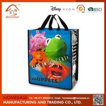 Customized cheap new design laminated non woven shopping bag