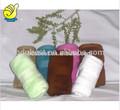 decorativa pequena e macia várias cores face toalhas de mão