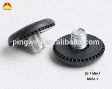 rubber M8 furniture glide adjustable furniture foot