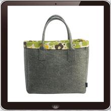 2015 Hot promotion eco friendly China manufacturer custom felt tote bag
