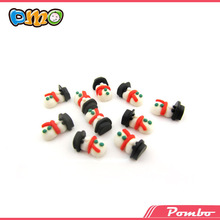 wholesale christmas series nail art lovely snowman 3D nail art decoration