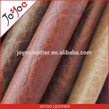 woven backing PVC sofa faux leather