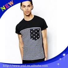 Oem Custom Stylish Pocket T Shirt Manufacturer Mens T Shirt