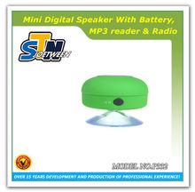 Rechargeable mini digital world tech audio speaker