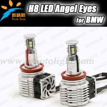 2*40W 80W C REE Chip LED Marker Angel Eyes 7000K XENON White for BMW E93 convertible (328i, 335i) H8 Led marker bulb