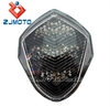 Universal Motorcycle LED Taillight For 2003 2004 GSX GSX-R GSXR 1000 Clear With Signal