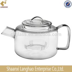 Clear Heat Resistant Glass Teapot