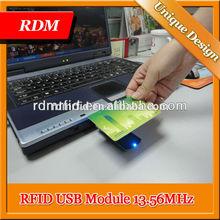 Lecteur RFID HF RFID lecteur Writer USB clavier émulation