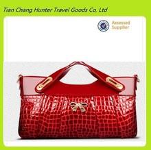high quality elegant ladies pu leather clutch bag 2014