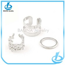 Wholesale alibaba value 925 silver ring design for girls