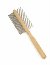 New fashion handheld double side cleaning comb pet comb