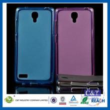 C&T Flexible Soft Gel Tpu Skin Slim Back Case Cover for Xiaomi Hongmi Note RedMi Note RedRice Note