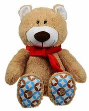 Música e gravador de pelúcia brinquedo gigante urso de peluche