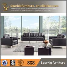 Modern knoll sofa rexine leather