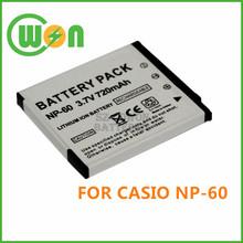 NP-60 NP60 Camera Battery for Casio Exilim EX-Z11 Z60 Z65 Z70 Z75 Z77 EXZ11