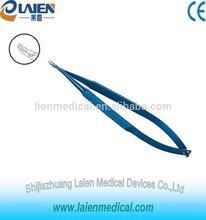 Ophthalmic Titanium Curved Needle Holder