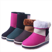 C83868A Mix colors women snow boots,hot wholesale women snow boots