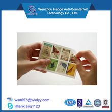 Self adhesive Postage Stamp sticker