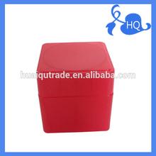 Square Red Hot Selling Cheap Cream Jar Hair Cream Jars 65g Plastic Cream Jar