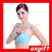 OXGIFT 2015 fashion 100% cotton pregnant woman's nuring bra