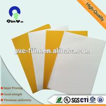 inkjet printable pvc plastic sheet/pvc lamination sheet /pvc cover plastic sheet