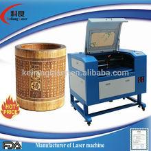 professional manufacture Keliang mini high precision monogram 460 laser engraving machine maker leather
