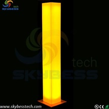 Tall and square wedding column/wedding decoration led lights for party lighting