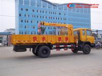 3500kg pickup truck crane,XCMG 3.5 tons crane,Dongfeng crane truck