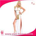 venta al por mayor 2014 de fantasía sexy de la mujer egipcia sexy disfraz cleopatra