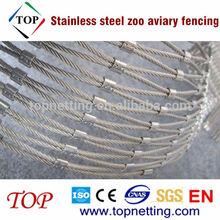 In acciaio inox recinzioni voliera zoo/metallo voliere