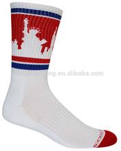 New York Skyline Unisex Crew Length Sock