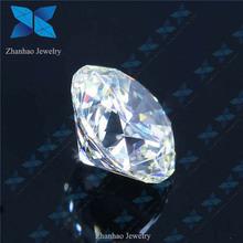Synthetic white D big rough sona diamond