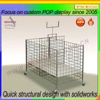 fruit vegetable display rack,kitchen sheif rack,stainless steel wire shelf