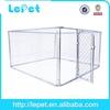 big chain link box metal dog fence/dog kennel/pet house