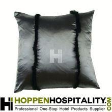 stripe rabbit satin pillow decoration