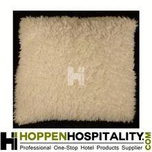 imitate lamb fur couch throw pillows