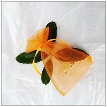 Modern latest organza tropical gift bags