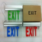 exit sign clip art 3W SE-0301 series CE ROHS 3 years warranty led acrylic exit sign led emergency exit sign