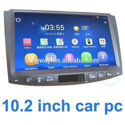 9 inch car headrest dvd player with wireless game navigator in dash