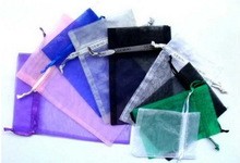 Low price classical organza sweet pouchs